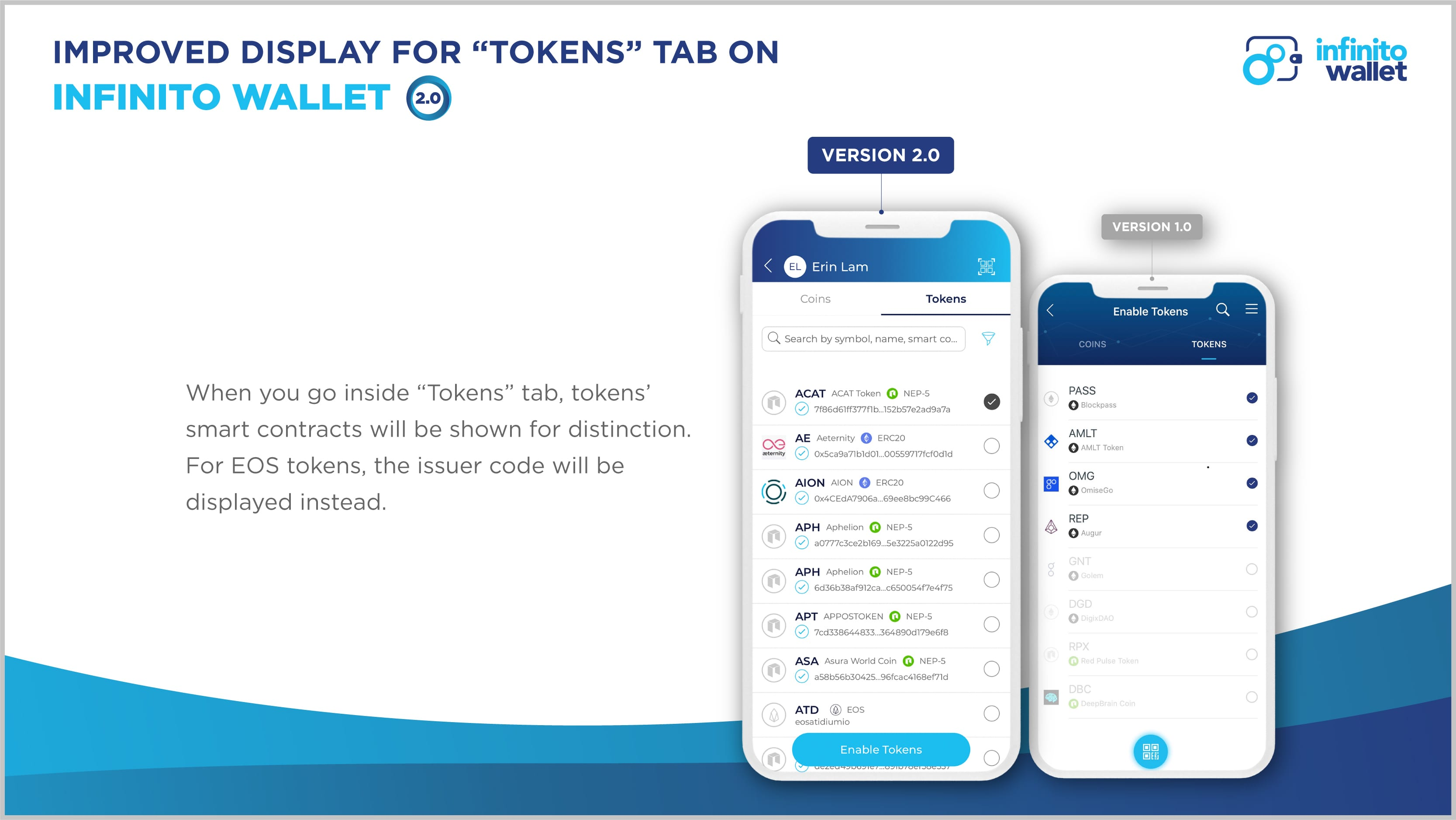 Officially LIVE: Infinito Wallet Version 2 0 with a Fresh